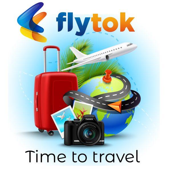 Flytok - Fight Booking App Design