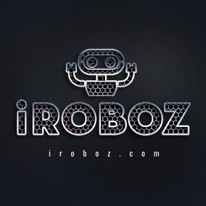 iRoboz logo - Robot Startup Brand name - iroboz.com