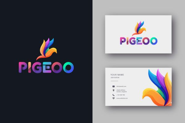 Pigeoo Branding logo design