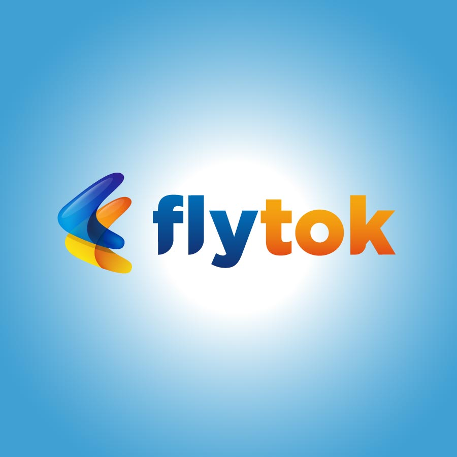 Flytok - FLight brand design by Brandizle