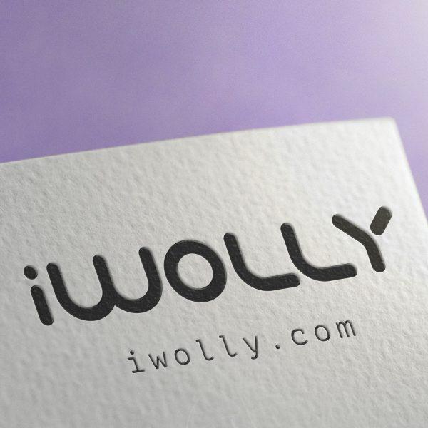 iwolly - Branding design by Brandizle
