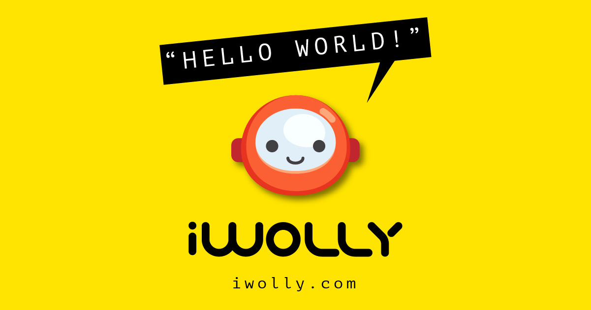 iwolly - logo - brandig design by Brandizle